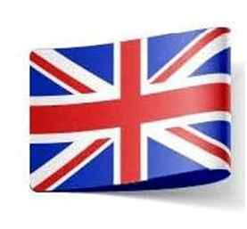 The British flag at the citizenship ceremony